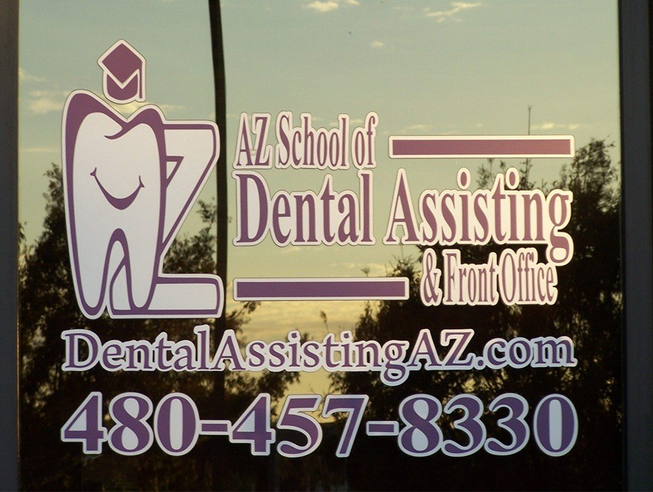 Front entrance of A-Z School of Dental Assisting & Front Office